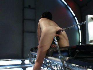 달콤한 엉덩이 기계에 의해 망할 도착