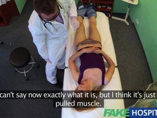 가짜 병원 의사 신뢰할 수있는 거시기