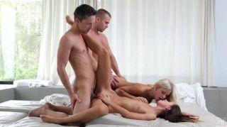 디도와 지나와 하드 코어 그룹 섹스