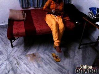 인도 아내 실팍 바브시 벗고 벗은