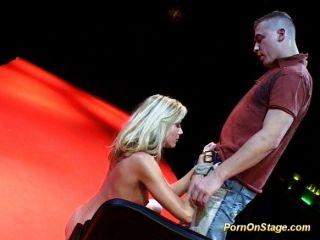무대에 포르노