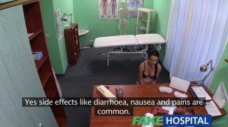 가짜 병원 의사가 치료할 정자를 처방하다.