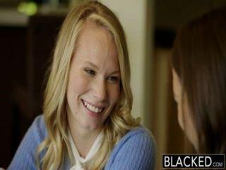 두 십대 소녀 공유 거대한 bbc 흑인