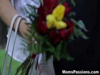 낭만적 인 엄마를 사랑하는 엄마의 열정