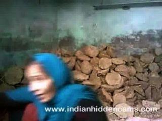 인도 부부 섹스 뭄바이 건설 현장에서 빌어 먹을