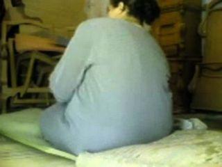 워크샵 스파이 캠에 bbw 할머니 아랍