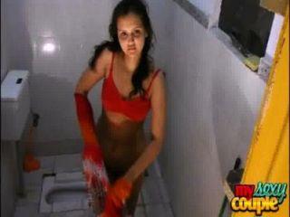 샤워에서 인도 아마추어 커플 sonia와 화창한 하드 코어 섹스
