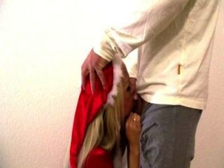 섹시 코타 lutscht schwanz im wennachtsoutfit
