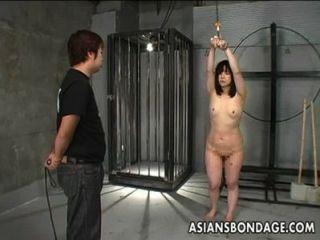japanese girl 채찍에 묶여