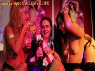 안드레아 dipr와 세 악순환 여자의 난교 파티