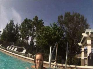 lilyth 매 아마추어 십대 모델 수중 비디오
