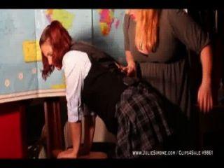 꾸며 놓은 여학생 트레일러 웹을 개종했다.