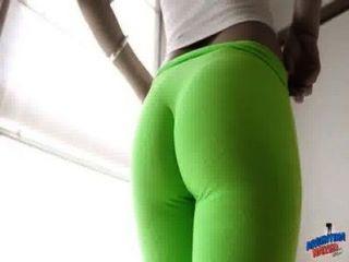 울트라 꽉 레깅스에 완벽한 엉덩이 하이틴!나귀!카멜롯!끝까지 보아라!놀랄 만한!