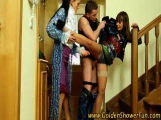 매춘부를위한 황금 샤워