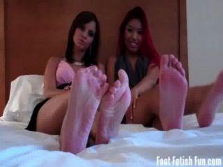 너의 작은 발목을 핥아 라.