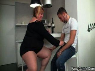 bbw 젖은 뚱뚱한 여자에 거시기를 갈구