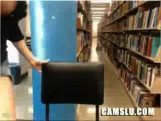 내 슈퍼 귀엽고 예쁜 아시아 도서관 캠 소녀 잡힐 가져옵니다.