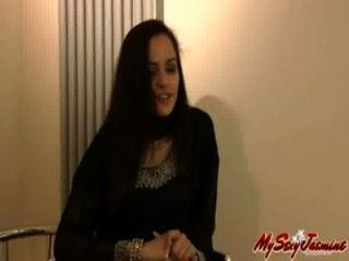 3485755 인도 섹시 베이비 재스민 그녀의 bigtits와 음부와 놀고