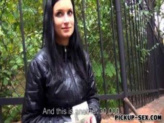 진짜 아마추어 체코 어쩌면 rosalinda 돈을 위해 못을 박 았어요