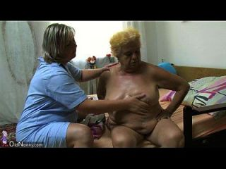 oldnanny 지방의 큰 할머니는 젊은 남자와 섹스를했습니다.