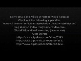 새로운 여성 레슬링 및 혼합 레슬링 비디오 출시 볼륨 7