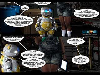 3D 만화 : 전투원 구출. 에피소드 1 2