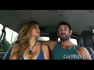 흥분한 게이 녀석과 날려 버리는 직업