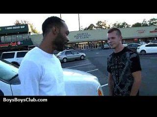 근육 흑인 친구들이 게이 흰색 트윈 크 보이즈 16