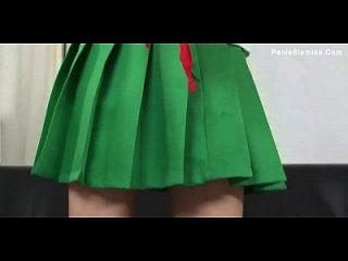 의상을 입은 의상을 입은 일본 소녀