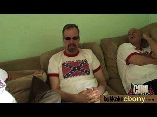 흰색 성기 1 interracial gangbang