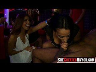 cfnm 파티 19에서 클럽에서 섹스
