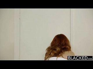 검은 머리 빨간 머리 모델 amarna 밀러 인종 간 creampie