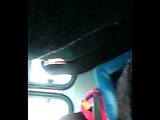 버스에서 플래시 거시기
