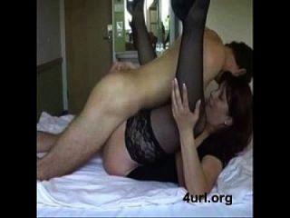 아들과 섹시한 엄마.