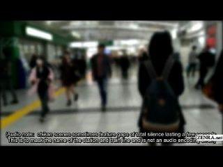 진짜 chikan 경험을위한 일본 여학생 보드 훈련