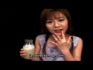 아시아 음료 한 병