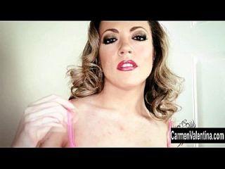 carmen valentina는 완벽한 엉덩이를 가지고 있습니다!