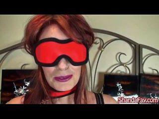 Kinky 캐나다인의 미친 샨다 페이가 BJ에게주는 괴롭힘을 당한다!