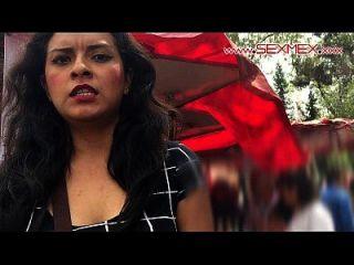 폴라 라모스. 지하철에서 포르노 장면 델 메트로와 에스 세나 포르노에 포르노!