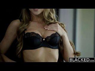 거대한 검은 거시기에 검은 색 작은 금발의 shawna lenee 비명
