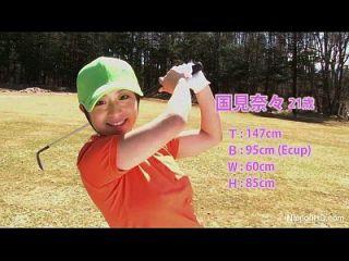 아시아 사춘기 소녀 연극 골프 누드