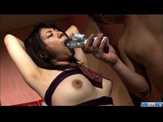 유리 히라야마 놀라운 속박 장면