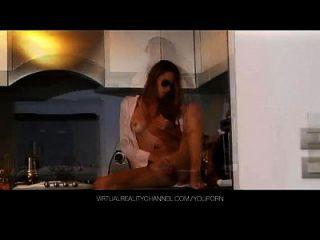 주방에 진동기가있는 실비 디럭스