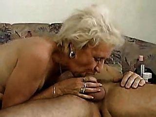 할머니 할 수 deepthroat