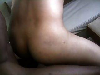 4 큰 검은 자지는 1 행운 흰색 엉덩이 씨발