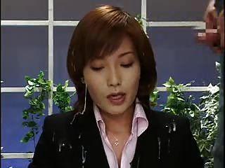 아시아 뉴스 리더 bukkake 2