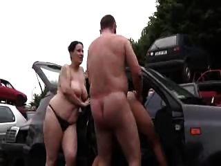 아빠가 섹스 엄마와 사춘기 소녀 야외
