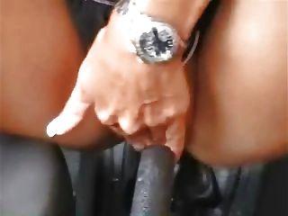 차로 독일 소녀 자위