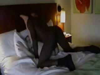 호텔에서 흑인 남편 영화 아내