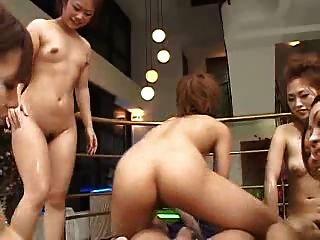 japanese 6 girls 1 행운의 남자 pov (무수정)
